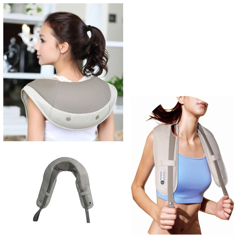 2015 MB2211 New Functional Neck&Shoulder Massage Cape Machine Relieve Neck Pain and Stress Relaxation Product(China (Mainland))