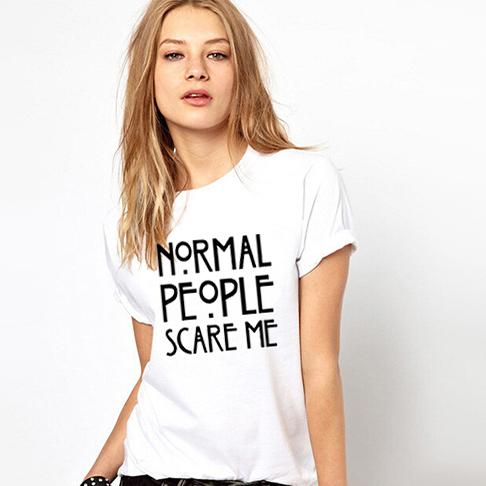 Женская футболка N/A Harajuku Tshirt Normal People женская футболка other 2015 3d loose batwing harajuku tshirt t a50