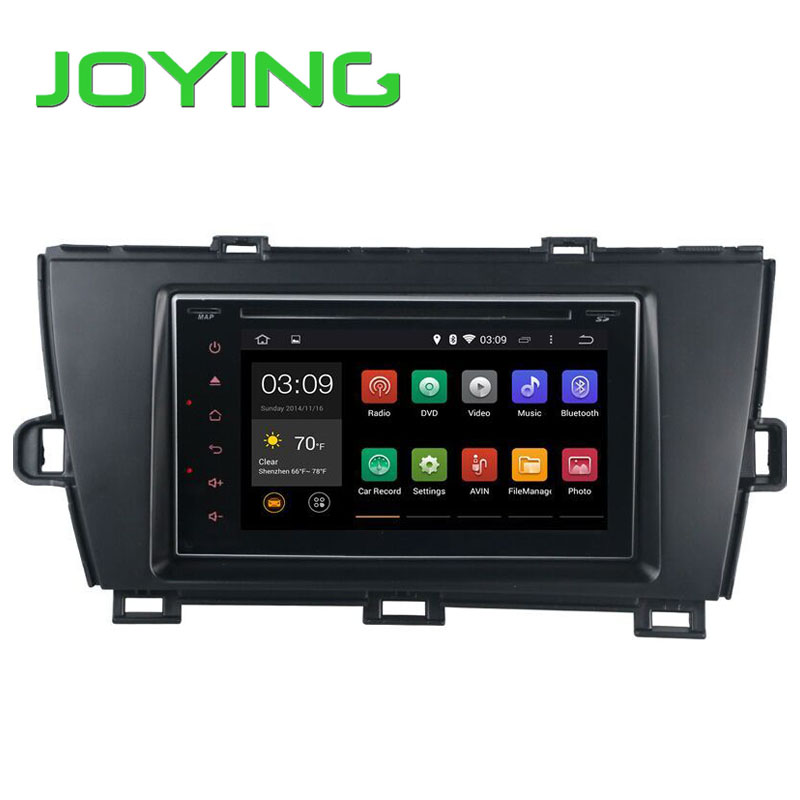 Quad Core Double Din Toyota Prius 2009-2012(Left Wheel) Android 4.4.4 Touch Screen In Dash Car DVD GPS Navigation Head Unit(China (Mainland))