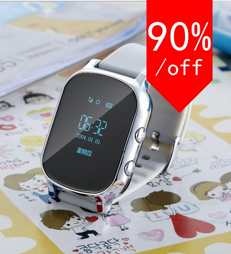 new GPS Tracker Smart Watch Kids Child Bracelet Personal Locator GSM GPRS Tracking LBS Position Phonebook Web APP Realtime Track(China (Mainland))
