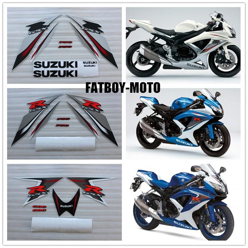 Купить 2008 2009 велосипед мотоцикл для Suzuki GSXR GSX-R GSX R 600 700 K8 стикеров этикеты-3 цвет можно выбрать