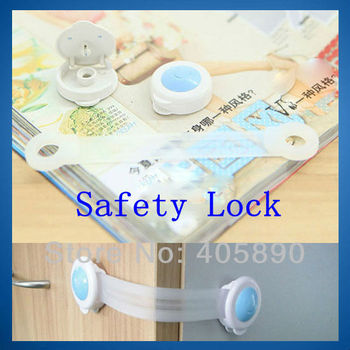Extended Bendy Door Drawer Window Cabinet Safety Lock for Baby Kids Child Long Style