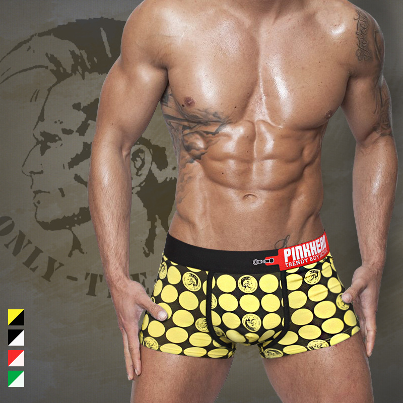 Cotton Sexy Man Newly Underwear Boxer Plus Size Male Boxer Underpants Fashion Design Men's Breathable Panties Shorts Boxer XXL(China (Mainland))