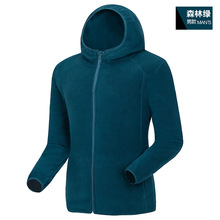 2016 Outdoor fleece jacket men and women cardigan Thicken Warm Fleece Windbreaker Cardigan Hooded Polar Fleece Jacket for hiking