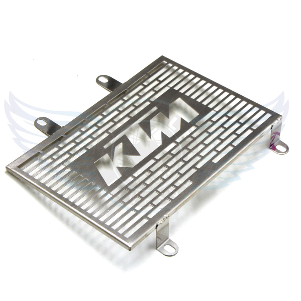 brand new motorcycle stainless steel radiator cover protector grill Protector Fit KTM DUKE 125 200 2011 2012 - RUNNING MOTORCYCLE store
