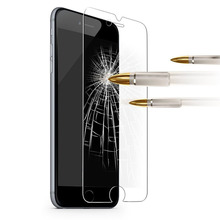 tempered glass film for apple iphone 6plus 6 plus 6s 6splus by 2.5d 9h 0.3mm anti-scratch front protective screen protector