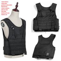 Aramid Army vest NIJ IIIA.44 Aramid fiber ballistic tactical self-defense Real Military bullet proof vest coletebalisticootatico