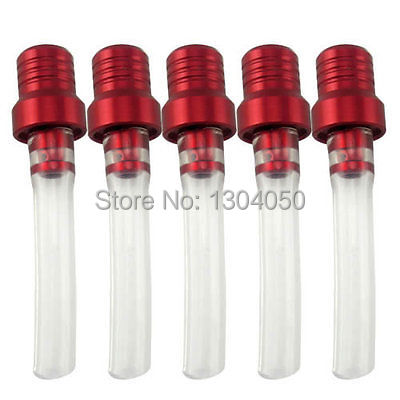 5PCS RED GAS CAP VENT BREATHER HOSE TUBE FOR THUMPSTAR SSR CRF50 DIRT BIKE(China (Mainland))