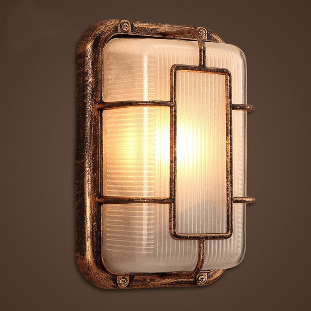 Vintage Bedside Wall Lamps : Warm White Light Max 60W LED Wall Lamp Vintage Retro Industrial Style Bedside Living Room Dining ...