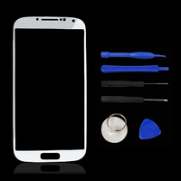 10pcs/lot Front Glass Lens Outer Lens Glass for samsung s5 i9600 Replacement Repair Part Lens Outer LCD Front Screen Tools G7