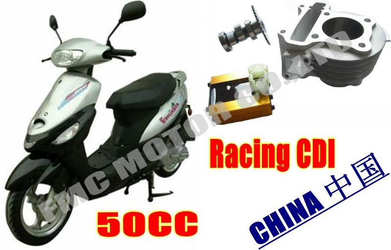 139QMB GY6 racing CDI scooter parts,49cc engine(China (Mainland))