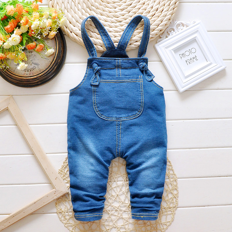 children jeans boys pants jumpsuit jeans baby overalls boy&girl Fashion kid clothing child costume spring&autumn toddler overall(China (Mainland))