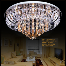 ceiling lamps for home surface mounted led ceiling lights modern round crystal ceiling lights living room luxury crystal(China (Mainland))
