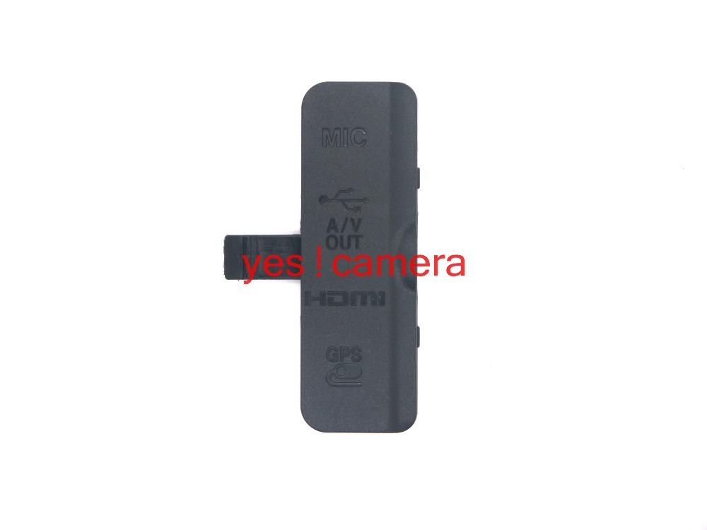 Original New Left cover USB Gum Rubber MIC A/V HDMI GPS for Nikon D3200 ;Camera Repair parts(China (Mainland))