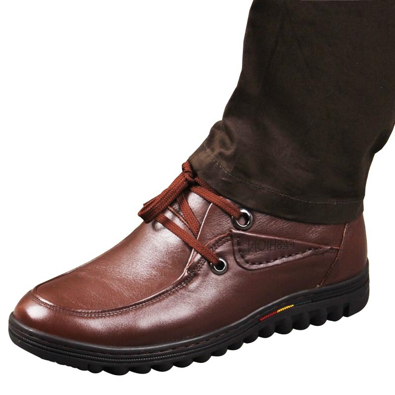 New Men Brand Shoes Genuine Leather Men Business Dress Shoes Moccasins Slip On Shoes Men Genuine Leather Casual Shoes Round head(China (Mainland))