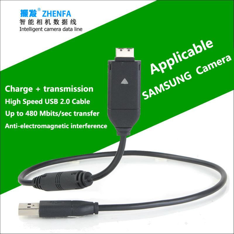 Zhenfa for samsung Camera data cable +charger SUC-C7 ST45 ST30 ST65 ST95 ST50 ST80 ST90 ST70 ES70 ES73 ES75 ES20 ES55 ES60 ES65(China (Mainland))