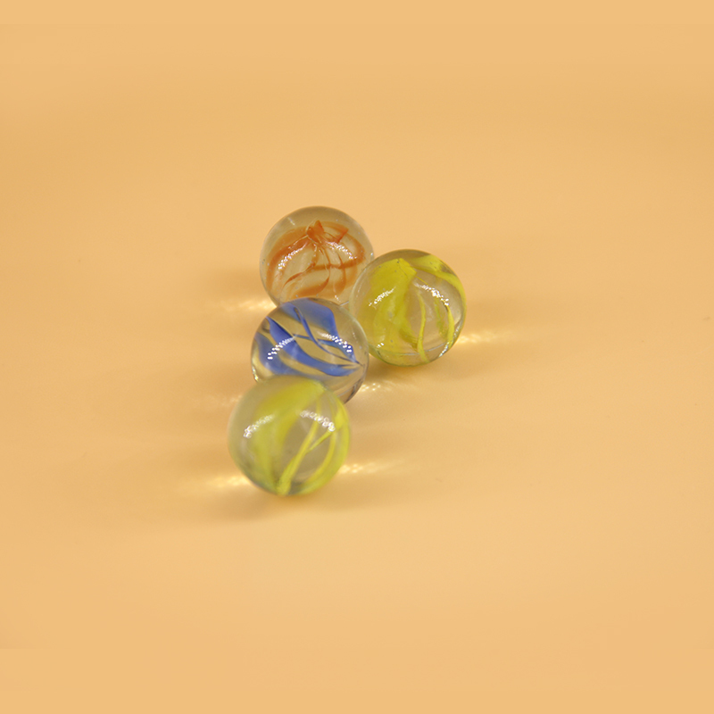 30pcs glass marbles ball 14mm classic home fish tank for Fish tank marbles