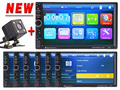 2 Din Car Video Player 7 HD Bluetooth Stereo Radio FM MP3 4 MP5 Audio USB
