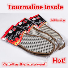 Tourmaline Heated Shoe Insoles Remote for Men and Women Deodorization Foot Insoles Messager Self-heating Comfort Keep Warm Pads