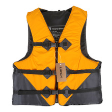 LIXADA Professional Life Vest Adult Life Jacket Polyester Swimming Boating Drifting Fishing Life Vest with Emergency Whistle(China (Mainland))