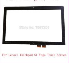QUY Laptop Free shipping tablet digitizer panel Touch Screen for Lenovo ThinkPad S1 Yoga