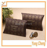 Custom/Cardboard box for small gift/ Scarf paper box with hot stamping logo/Free shipping 1000pcs/lot