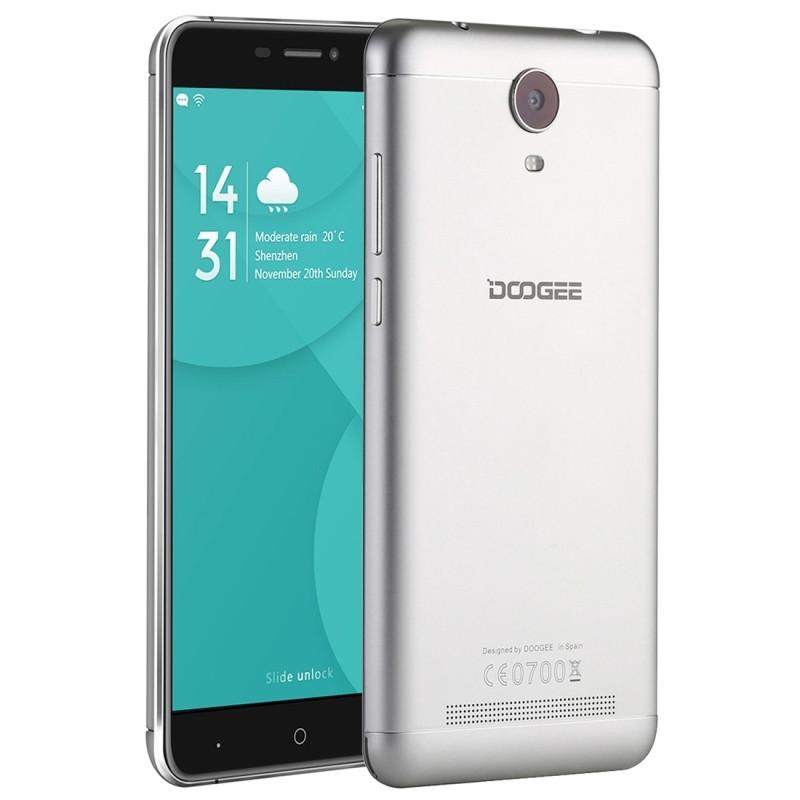 Original Doogee X7 Pro 4G Mobile Phone RAM 2GB ROM 16GB MTK6737 Quad Core 6.0″ 3700mAh 8MP Camera Android 6.0 Smartphone Presale