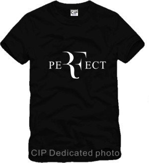 Chinese Size S~3XL Men's Roger Federer tee t shirt RF perfect printing tshirt tennis sport short sleeve t-shirt camisetas(China (Mainland))