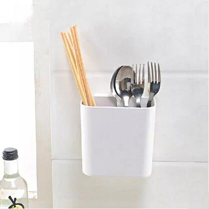 plastic spoon holder cooking tools storage kitchen decor