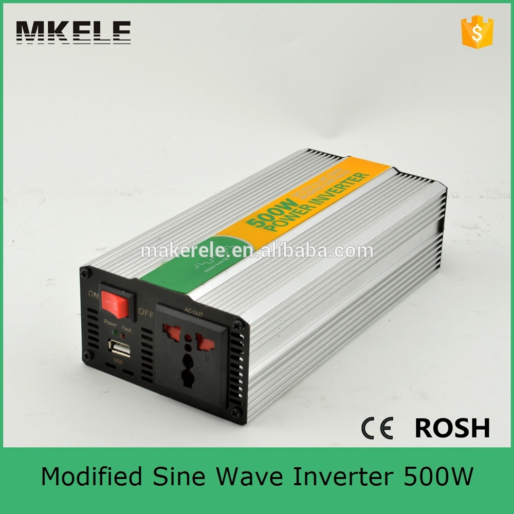 MKM500-242G modified sine 24VDC to 220VAC 500 watt power inverter,electricity power inverter,home power inverter with CE