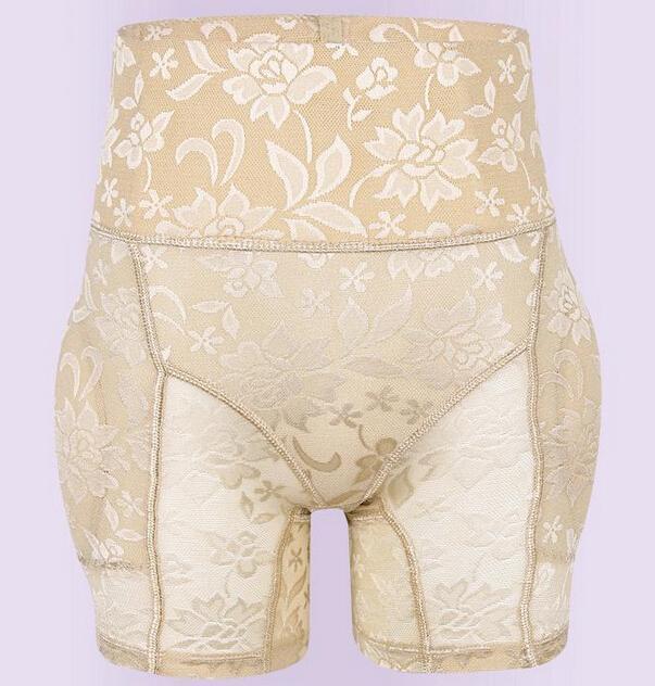 Women Padded Briefs Sexy Lace Push Up Panties Abundant Buttocks Hip Trainer Butt Lifting Inserts/Pants/Underwear padding shaper(China (Mainland))