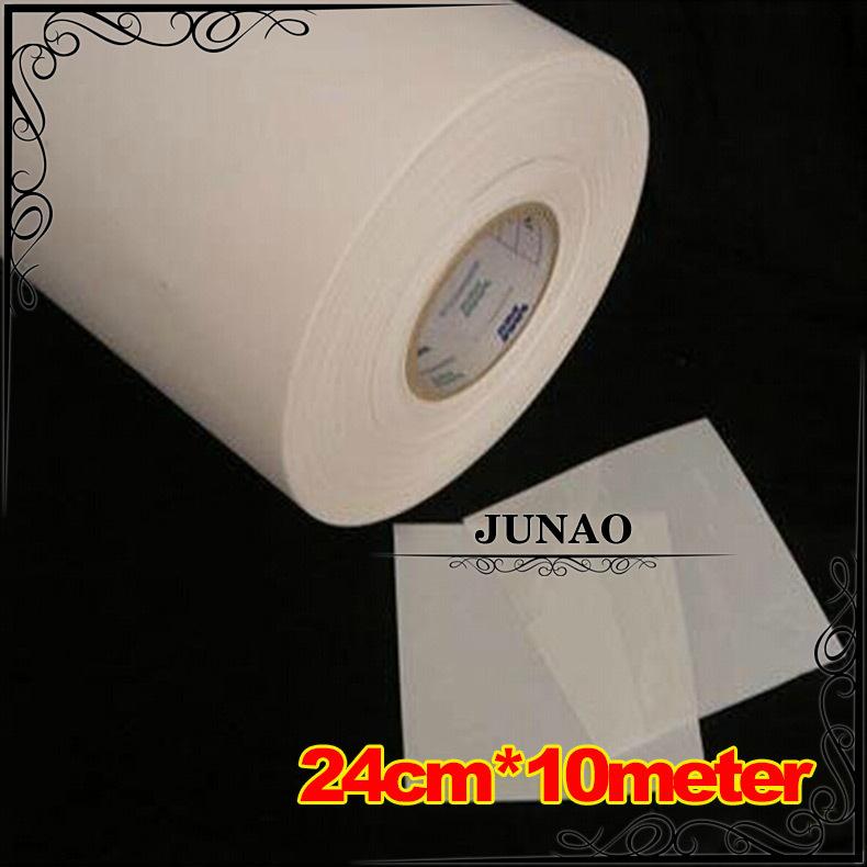 24cm*10meter Hot Fix Rhinestone Mylar Tape Paper Heat Transfer Iron On Crystals Film Paper DIY Tools(China (Mainland))