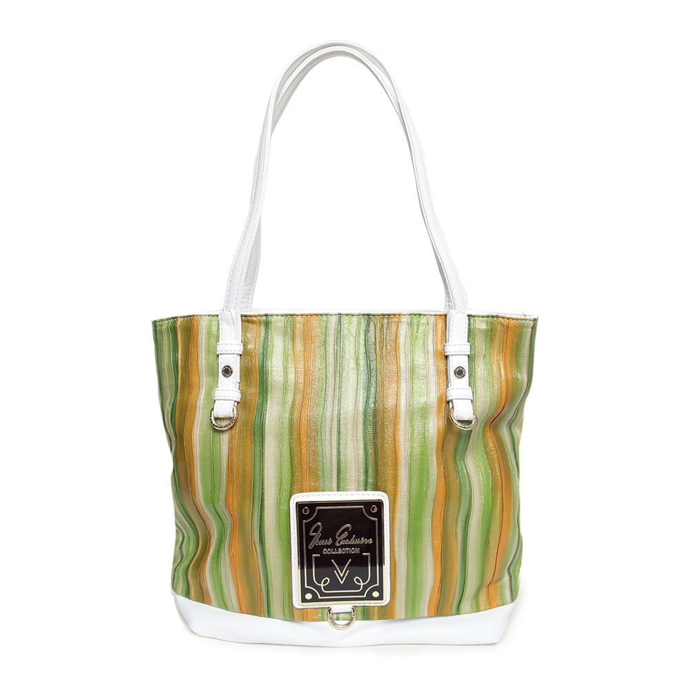 special style color mixture women tote bag beautiful green shoulder bag(China (Mainland))
