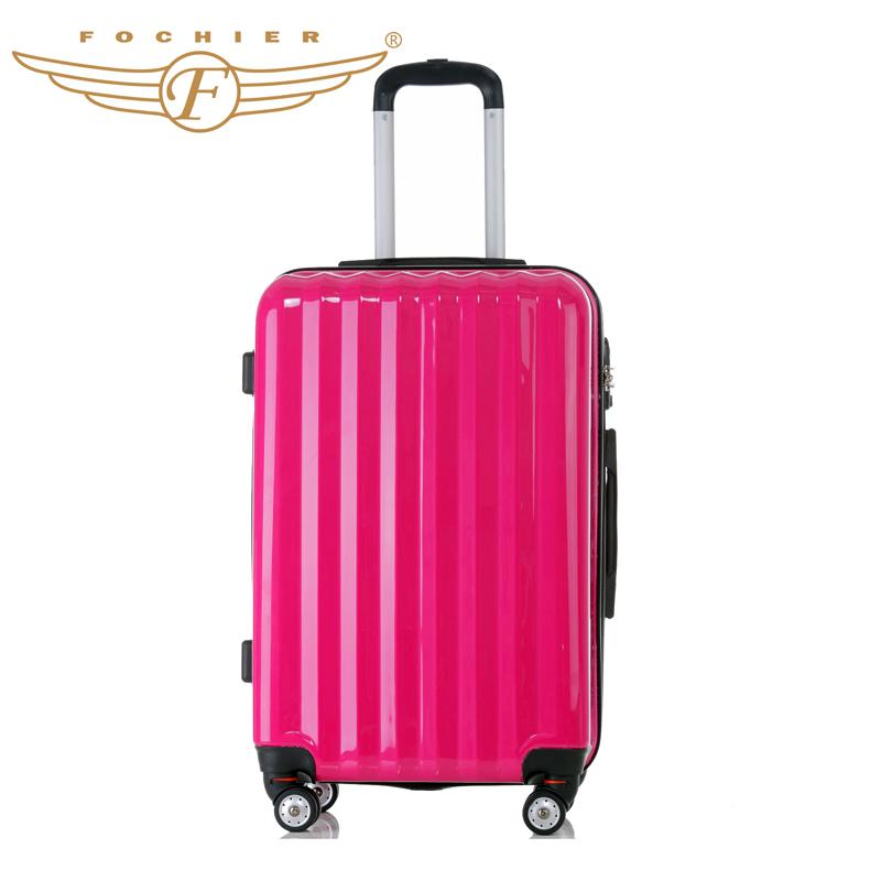 fashion high quality spinner wheels trolley luggage