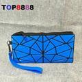 2017 HOT New Long Walle Bag Creative PVC Folding Student Phone Bag Geometric Small Coin Purse