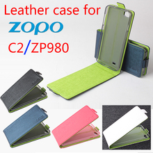 BW Green Bottom New Original ZOPO C2 ZP980 Leather Case Flip Cover ZP 980 Phone - Colourful case store