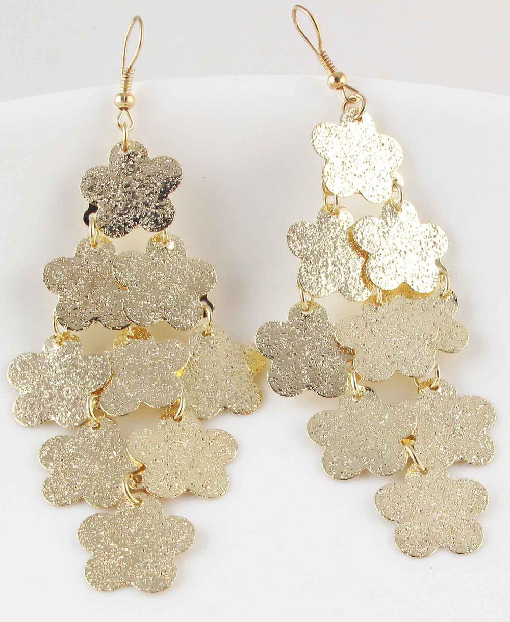 Buy New Women Fashion Jewelry Style Earrings Design Lady Bib Statement Long Ear