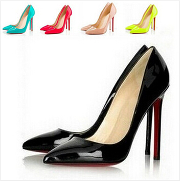 valentine shoes zapatos mujer women shoes high heel women pumps red bottom high heels shoes woman(China (Mainland))
