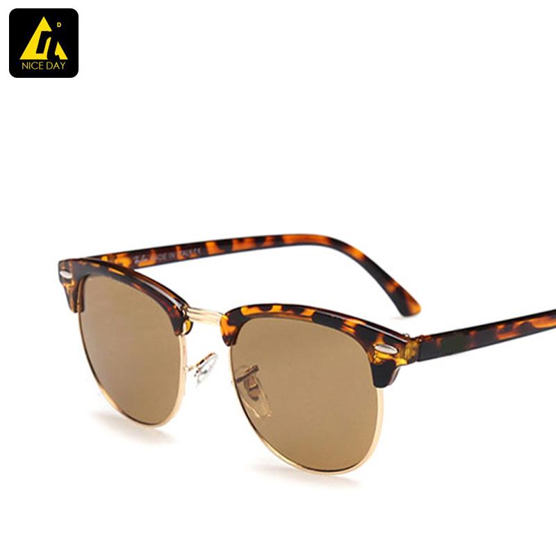 rb 3016 clubmaster Sunglasses men Oval Classic Retro band Original sun glasses for women wayfarer outdoors fashion gafas oculos(China (Mainland))