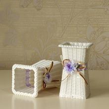 Preparation of flower basket basket vase flower simulation Home Furnishing jewelry craft gift pastoral style(China (Mainland))