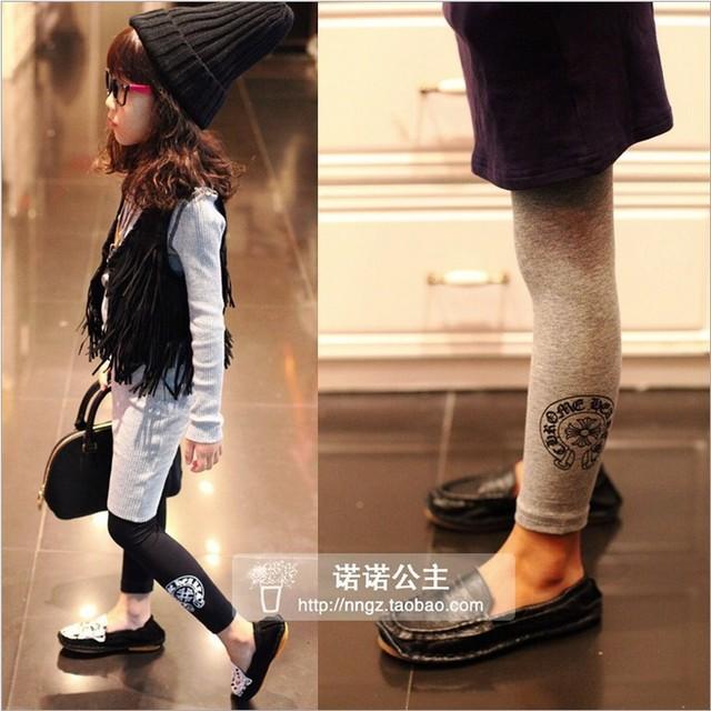 Горяч-продавать ребенок леггинсы 2016 весной новый приход ребенка женского пола брюки детские эластичные брюки