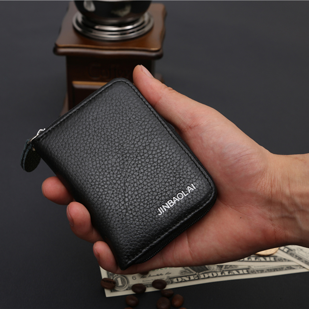 Auto Car Document Passport Cover Case Bank ID Business Credit Card Holder Travel Men Wallet Bag Purse Porte Carte Cardholder