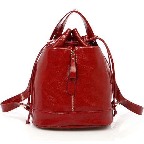 Double-shoulder womens bucket bag handbag single backpack dual-use womens backpack school bag travel bag travel bag preppy<br><br>Aliexpress