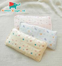High quality 1 Pieces 100% Cotton Baby ice silk gauze pillowcases cute cartoon Sleep Pillowcase washable free shipping(China (Mainland))