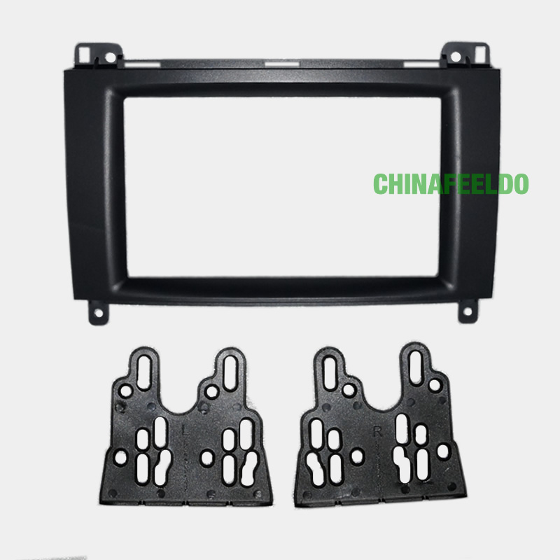 Car DVD/CD Radio Stereo Fascia Panel Frame Adaptor Fitting Kit Mercedes-Benz B200 #J-4398 - AUTO MAXX store