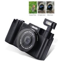 2016 AMKOV HD TFT Screen Professional Digital Cameras 8.0MP COMS  4x Digital Zoon Camera Wide-angle Lens Mini Photo Camera(China (Mainland))