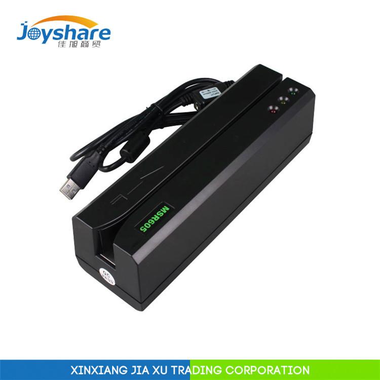 MSR605 USB MSR card reader writer Compatiable MSR206 MSR606 MSR609 MSRX6(China (Mainland))