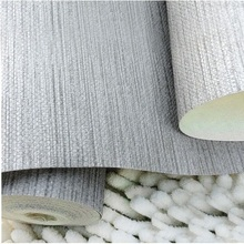 Modern Durable/Soil Resistant PVC Washable Wall Paper Grass Cloth Wall Contact Coverings Striped Wallpaper Roll For Home Decor(China (Mainland))