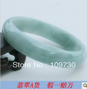 free shipping >>>>>909341 Natural Burma jade a cargo old crater waxy kinds chaise bracelet special genuine send certificate(China (Mainland))