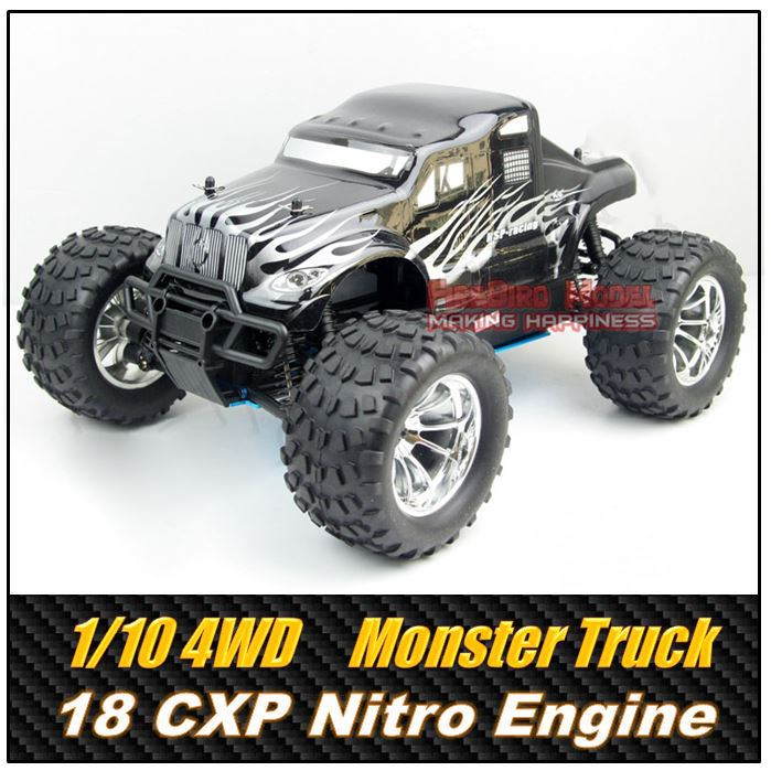 HSP BISON GP2 1/10 Scale 3.0cc Nitro Gas Power 4WD off-Road Monster truck , Rc Car for Hobby(China (Mainland))